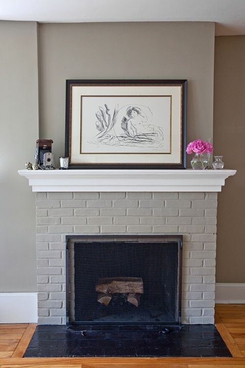 8dab2f71aeefe526c60ea18f27ad1b02 white mantle grey and white fireplace