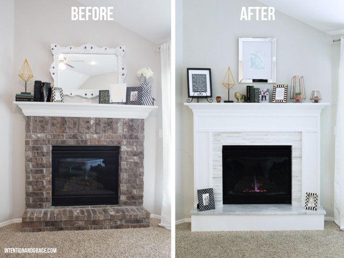Brick Fireplace Makeover is the best painted brick fireplace ideas is the best diy fireplace is the best painted brick fireplace colors