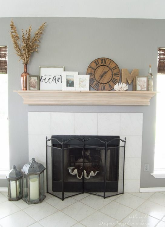 diy fireplace mantel with a driftwood finish inspiration of diy fireplace mantel of diy fireplace mantel
