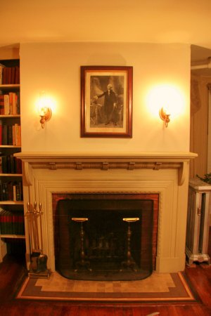 federal room fireplace