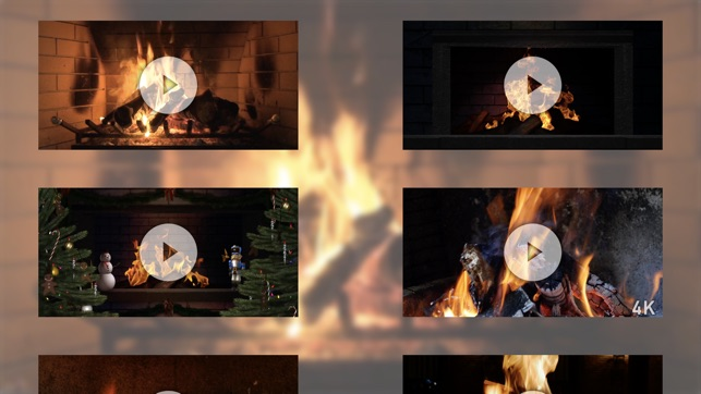 Fireplace Scented Candle Elegant Winter Fireplace On the App Store