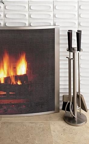 Fireplace Screens and tools Best Of Curved Fireplace Screen tools Products I Love