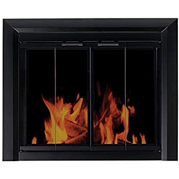 Fireplace Screens Covers Beautiful Amazon Pleasant Hearth at 1000 ascot Fireplace Glass
