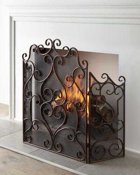 Fireplace Screens Covers Beautiful Kora Fireplace Screen In 2019 Fireplaces