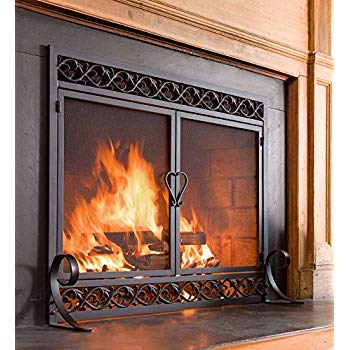 Fireplace Screens Covers Fresh Amazon Pleasant Hearth at 1000 ascot Fireplace Glass