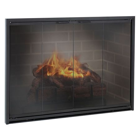 Fireplace Screens with Doors Inspirational Stiletto Masonry Aluminum Fireplace Glass Door