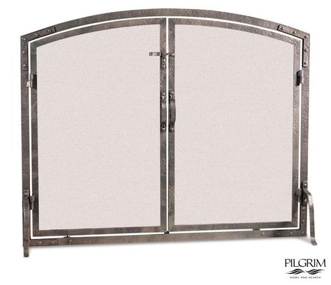 c57c0d6fa b6e db099ac2c fireplace screens with doors arched doors