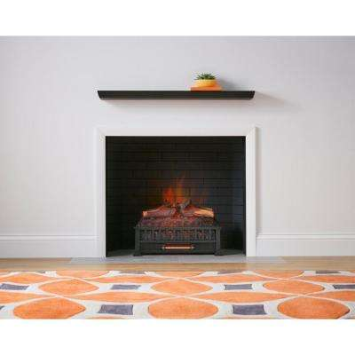 stylewell electric fireplace logs sp5822 3 64 400 pressed