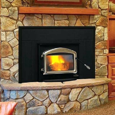small wood burning fireplace insert napoleon series inserts long island