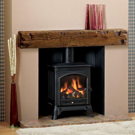 Fireplace Supply Store Awesome Great Beam Aged Oak Medium Finish Beam Fireplace