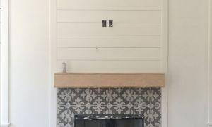 16 Elegant Fireplace Tiling Designs