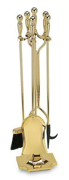 2fb835c84ae1a9fbe db6e6fc1af fireplace tool set polished brass