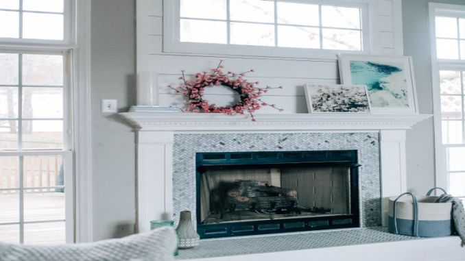 fireplace upgrades awesome fireplace makeover reveal with the home depot x pretty in the pines of fireplace upgrades 678x381