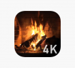 Fireplace Video Loop Elegant Winter Fireplace On the App Store