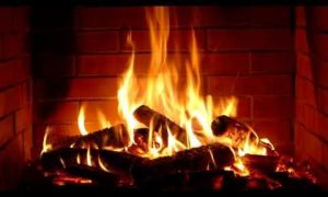 12 Lovely Fireplace Video Loop