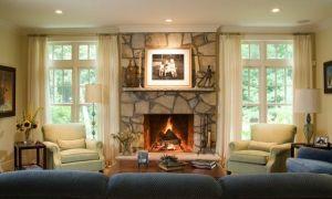 14 Unique Fireplace Windows