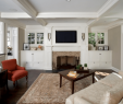 Fireplace with Tv Above with Built Ins Awesome Beautiful Living Rooms with Built In Shelving