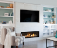 Fireplace with Tv Above with Built Ins Beautiful Image Result for Linear Fireplace In Shiplap