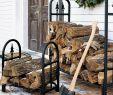 Fireplace Wood Holder Beautiful Decorative Heavy Duty Steel Firewood Racks and Mildew