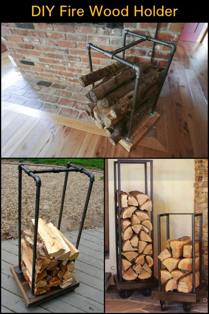Fireplace Wood Holder Best Of Build A Fire Wood Holder From Plumbing Pipes