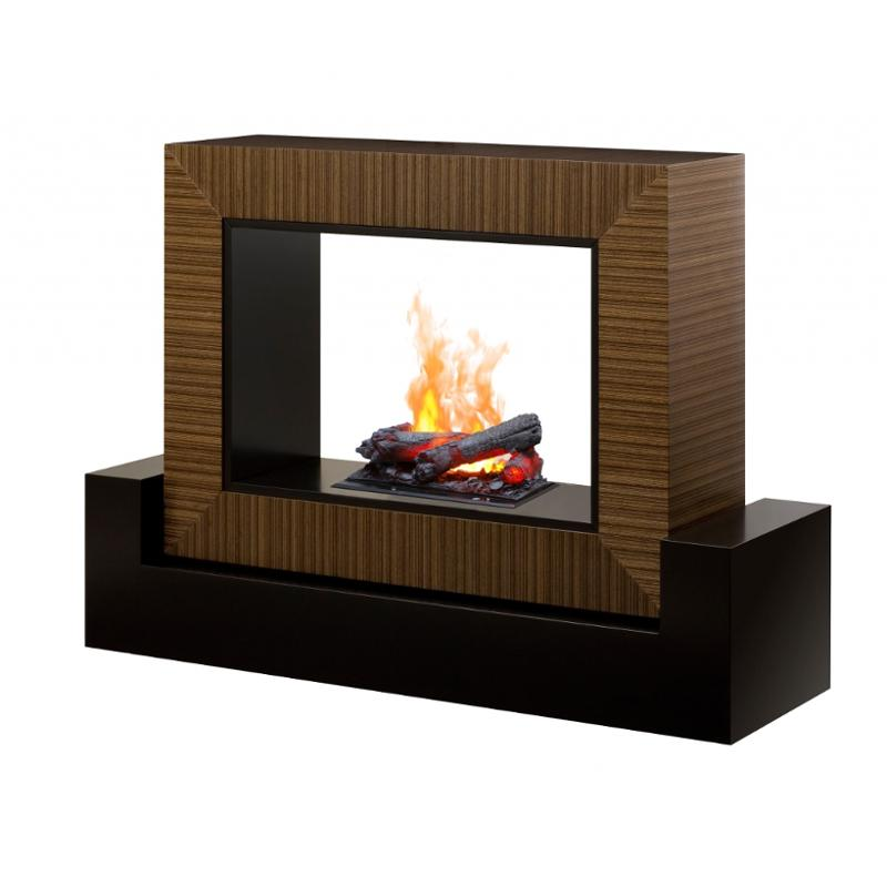 Fireplace Xtrordinair Elegant Dhm 1382cn Dimplex Fireplaces Amsden Black Cinnamon Mantel with Opti Myst Cassette with Logs