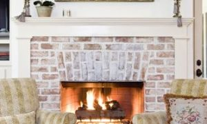 12 Unique Floor to Ceiling Brick Fireplace Makeover