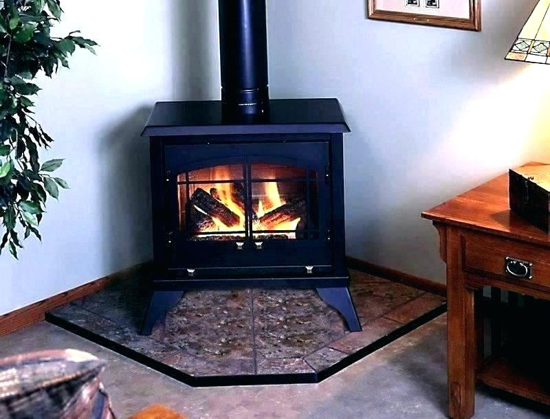 freestanding wood fireplace installation free standing od burning brilliant corner propane ng with fi