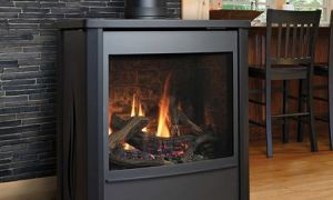 12 New Free Standing Ventless Propane Fireplace