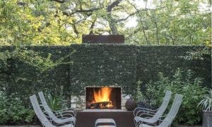 15 Inspirational Freestanding Outdoor Fireplace