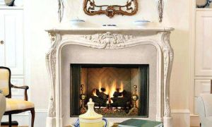 13 Lovely French Country Fireplace Mantel