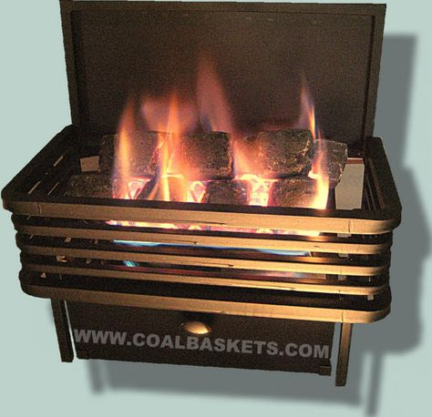 Gas Fireplace Accessories Lovely Moderne Chillbuster Vent Free Coal Basket by Rasmussen
