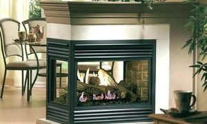 30 Luxury Gas Fireplace Corner Unit