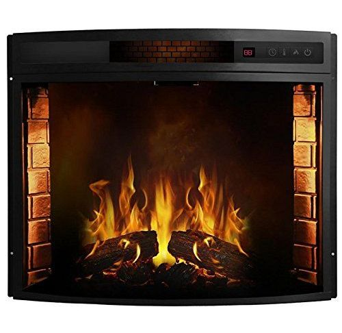 Gas Fireplace Damper Elegant 26 Inch Curved Ventless Electric Space Heater Built In