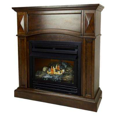 cherry pleasant hearth ventless gas fireplaces vff ph20ng c1 64 400 pressed