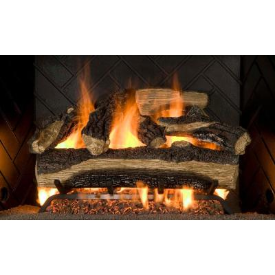 emberglow vented gas fireplace logs mo18dbnl 60dc 64 400