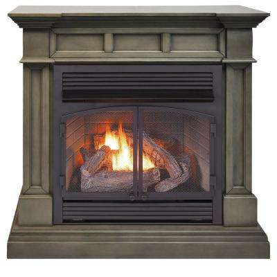slate gray duluth forge ventless gas fireplaces dfs 400r 2gr 64 400 pressed