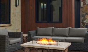 21 Luxury Gas Fireplace Table