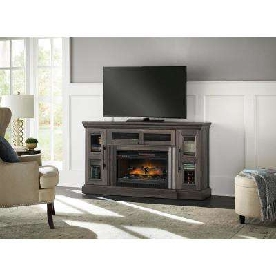 gray aged oak home decorators collection fireplace tv stands wsfp60hd 39 64 400 pressed