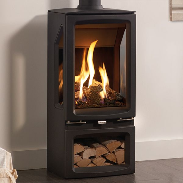 Gas Logs for Fireplace Beautiful Gazco Vogue Midi T Balanced Flue Gas Stove In 2019