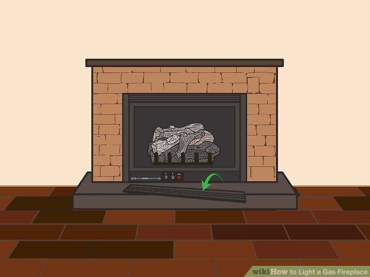 Gas Logs for Fireplace Lovely 3 Ways to Light A Gas Fireplace