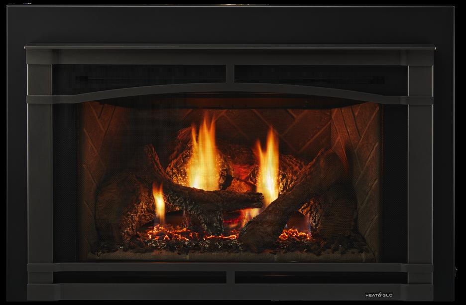 Glass Gas Fireplace Inserts Beautiful Escape Gas Fireplace Insert