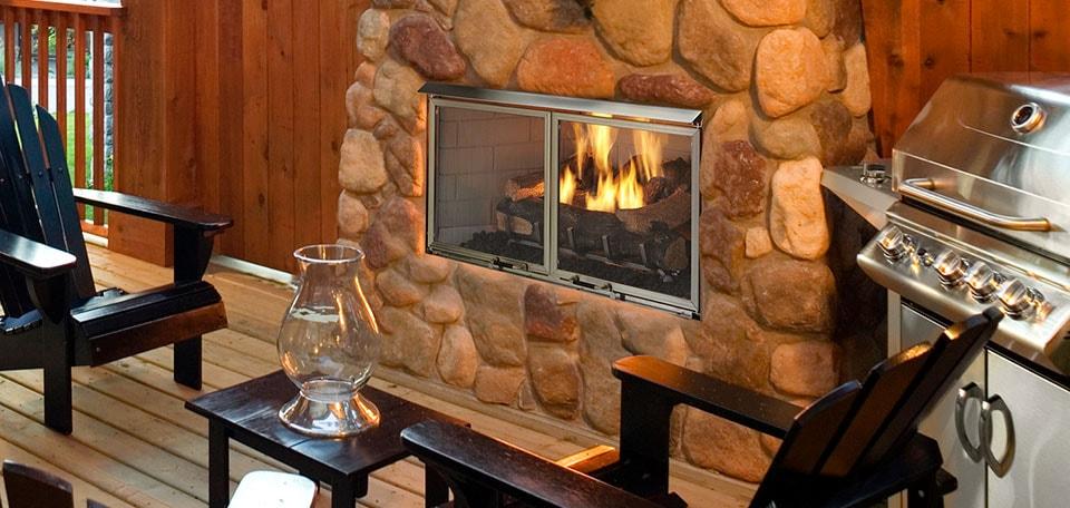 Glass Gas Fireplace Inserts Lovely Villa Gas Fireplace