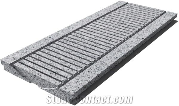 granite g603 drain grate 610x250x30 mm prof 0d sandblasted p 1b