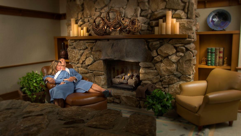 gpirst omni grove park inn spa relaxation room