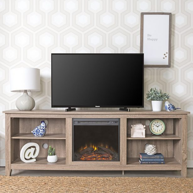 narrow tv stand with mount to mid century fireplace diy bedroom for mantle long 615x615