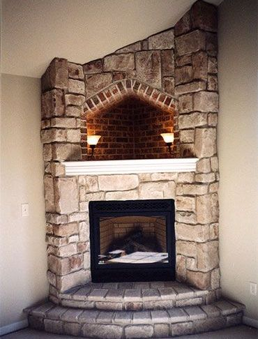 Hearth Of Fireplace Lovely Corner Fireplace with Hearth Cove Lighting Corner Wood