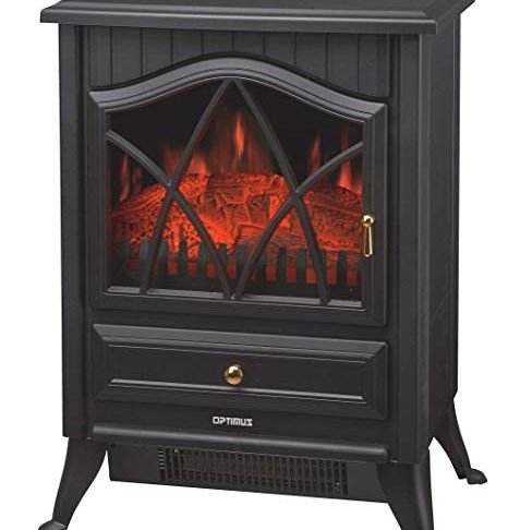 Heaters that Look Like Fireplace Elegant Amazon Optimus Electric Flame Effect Heater Home & Kitchen