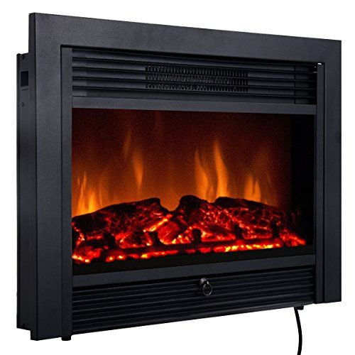 "Heaters that Look Like Fireplace Luxury Giantex 28 5"" Electric Fireplace Insert with Heater Glass"