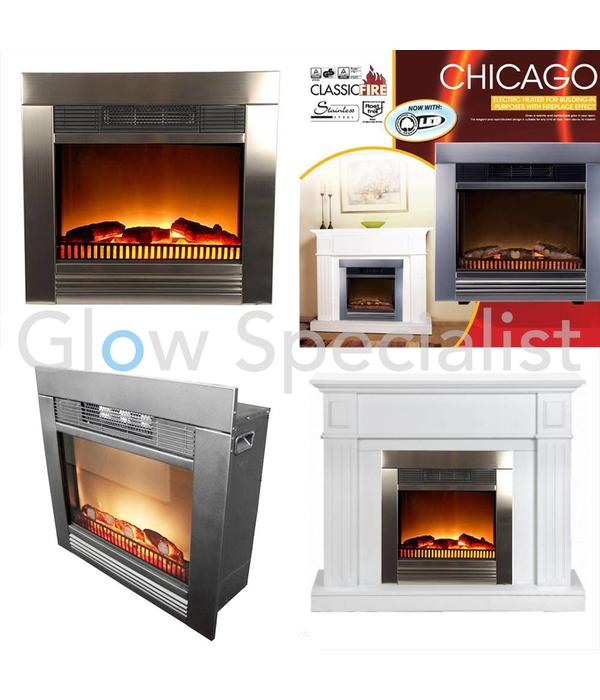 classic fire electric heater chicago