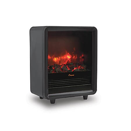 "Heaters that Look Like Fireplace Unique Crane Fireplace 1 500 Watt Heater 12 1 2""h X 15""w X 7 1 2""d Black Item"